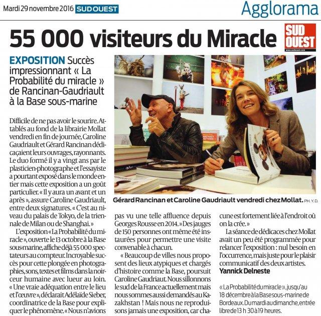 la probabilité du miracle - rancinan / gaudriault - exhibitions